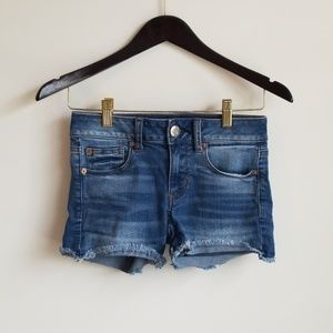 American Eagle cut off shorts